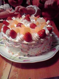今年のクリスマスケーキ♪